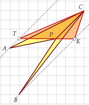 4(B5). Найдите площадь четырёхугольника, изображённого на клетчатой бумаге (вар. 86)