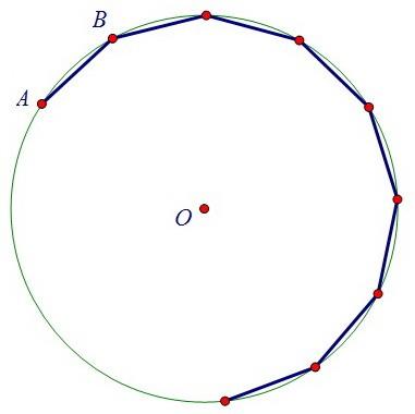 6. Многоугольник, вписанный в окружность и различные его углы (вар. 42)